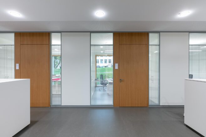 feco-feederle│partition walls│Bischof-Leiprecht-House, Stuttgart