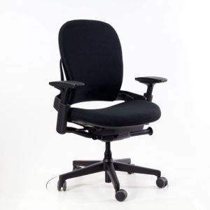 Steelcase Leap Plus│mit Lumbal-Support│schwarz│Steelcase in Karlsruhe