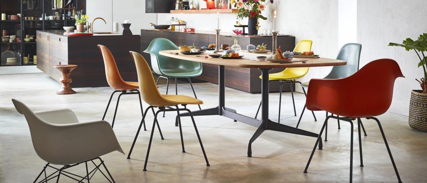Vitra Eames Fiberglass Side Chair │Vitra Eames Plastic Side Chair│Eames Plastic Armchair│Vitra bei feco Karlsruhe