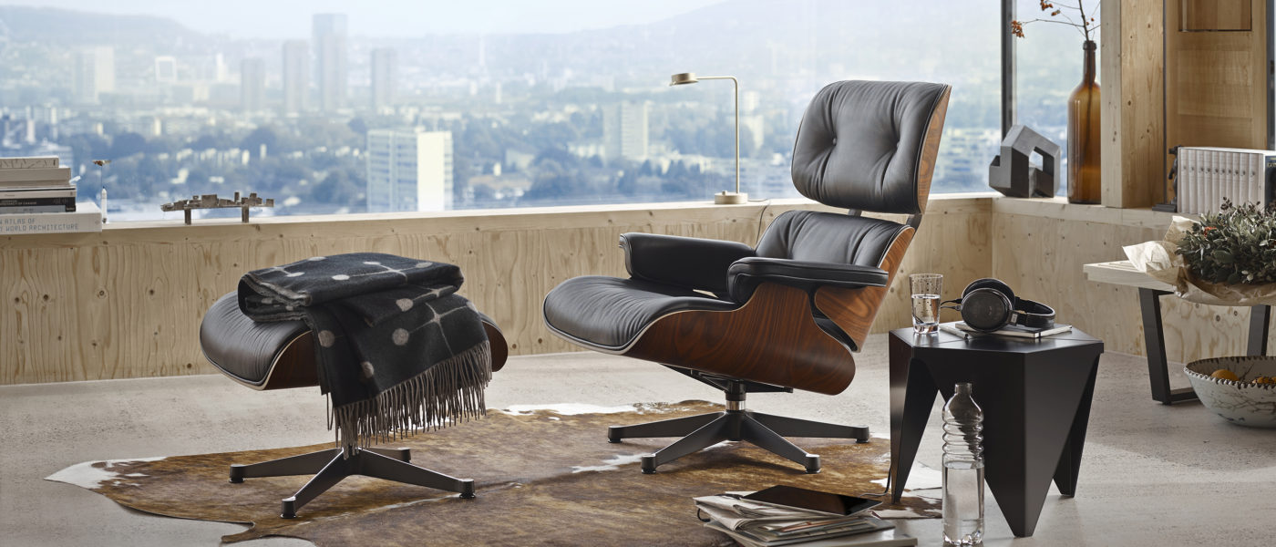 Vitra Eames Lounge Chair Witner Kampagne│bei feco Karlsruhe