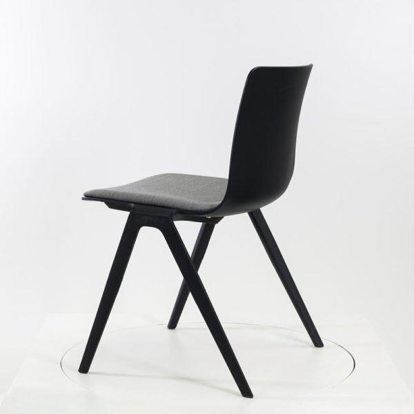 Brunner A-Chair Stapelstuhl│lava│Kvadrat remix 2 │Brunner in Karslruhe