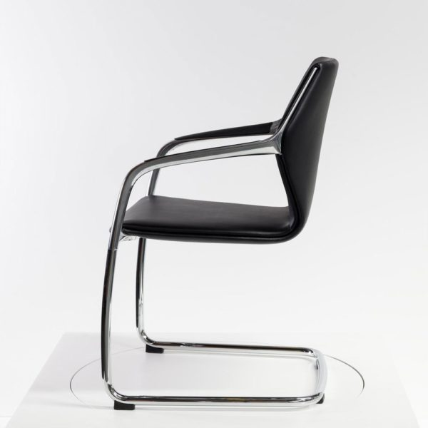 Brunner Ray Chair│Freischwinger│Leder│Brunner in Karlsruhe