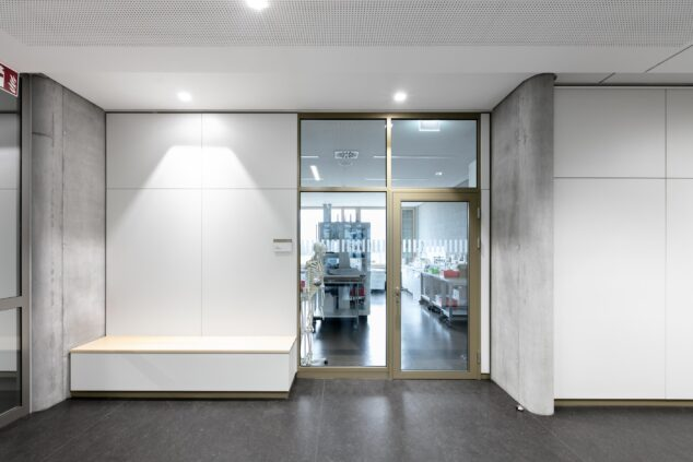 feco-feederle│partition walls│Vocational College, Bad Krozingen