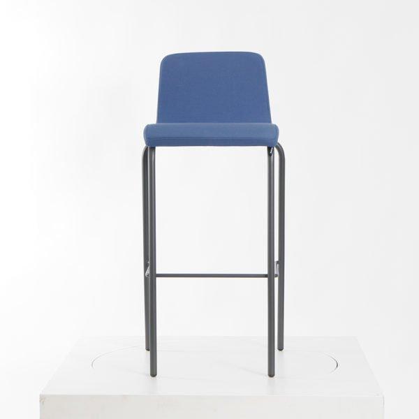 Steelcase B-Free Barhocker tintenblau│Gestell dunkel│Hocker stapelbar│Steelcase bei feco Karlsruhe