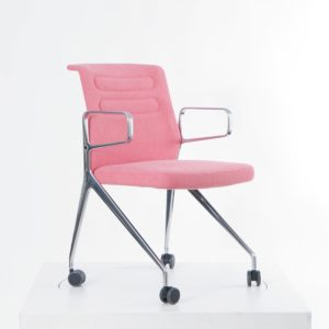 Vitra AC5 Swift│ Hopsak pink/poppy red│Vitra in Karlsruhe