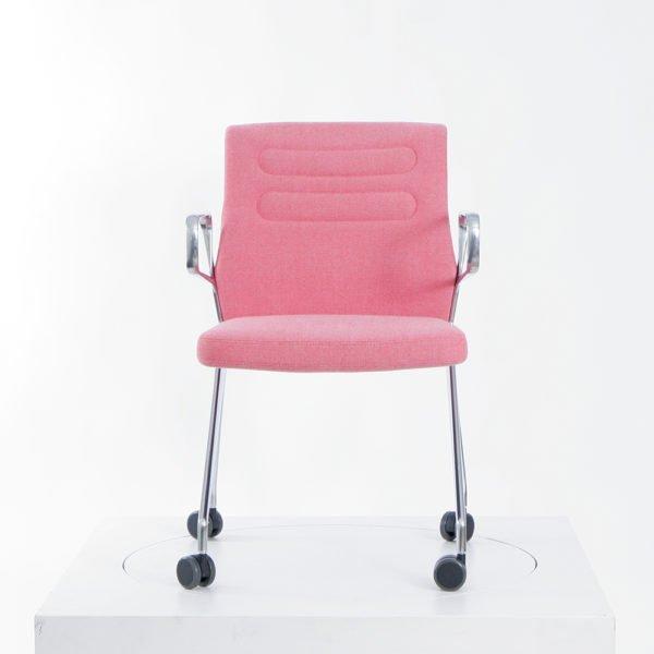 Vitra AC5 Swift│ Hopsak pink/poppy red│Vitra in Karlsruhe