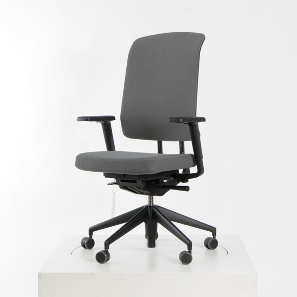 Vitra AM Chair Bürodrehstuhl sierragrau/nero│Vitra bei feco Karlsruhe│Vitra Büroeinrichtung Karlsruhe