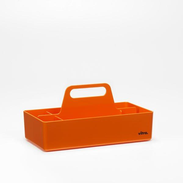 Vitra Toolbox mandarine│praktische tragbare Organisationsbox │Vitra bei feco Karlsruhe