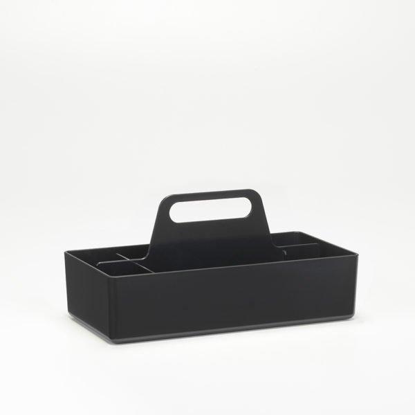 Vitra Toolbox schwarz│praktische tragbare Organisationsbox │Vitra bei feco Karlsruhe