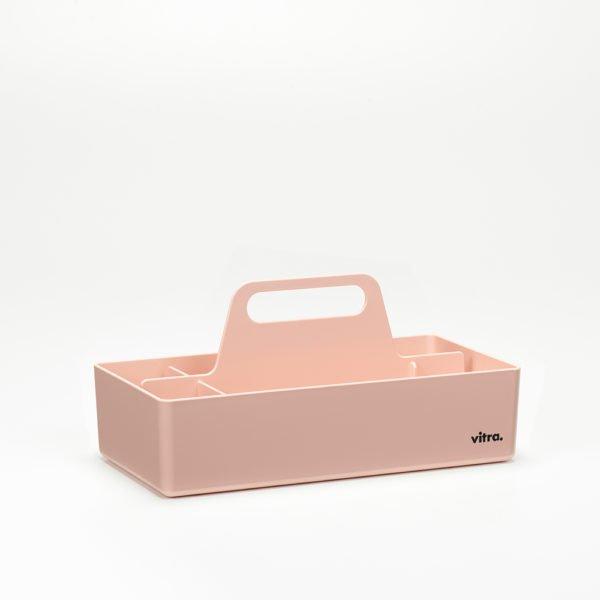 Vitra Toolbox zartrose│praktische tragbare Organisationsbox │Vitra bei feco Karlsruhe