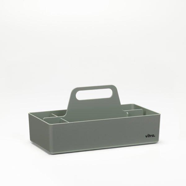 Vitra Toolbox moosgrau│praktische tragbare Organisationsbox │Vitra bei feco Karlsruhe