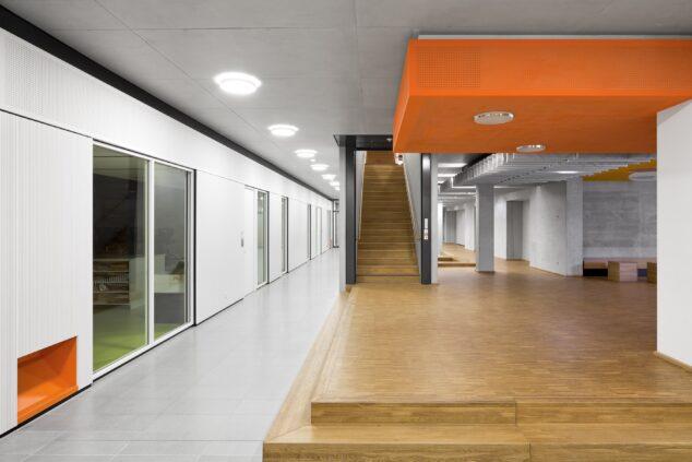 feco-feederle│partition wall systems│Gymnasium Trudering, Munich