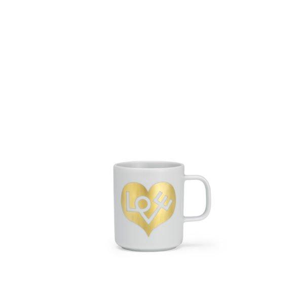 Vitra Kaffeetasse Love Herz Gold│Vitra Accessories│feco Karlsruhe