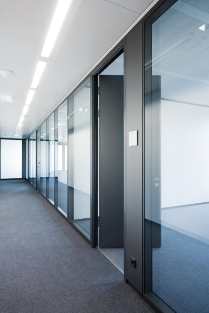 feco-feederle│partition wall systems│ Deutsche Börse Headquarters, Eschborn