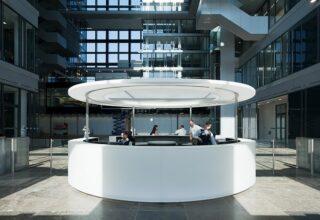 Zentrale der Deutschen Börse