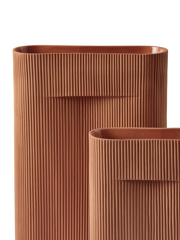 Muuto Ridge Vase│Teracotta│Höhe 48 cm│Muuto bei feco in Karlsruhe