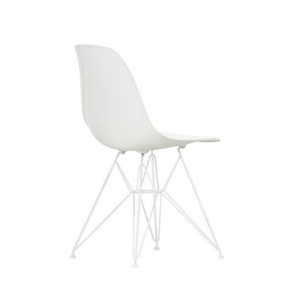 Vitra Eames Chair DSR weiss│Vitra Neuheit - Untergestell weiss │Stuhl Outdoorfähig│Vitra bei feco Karlsruhe