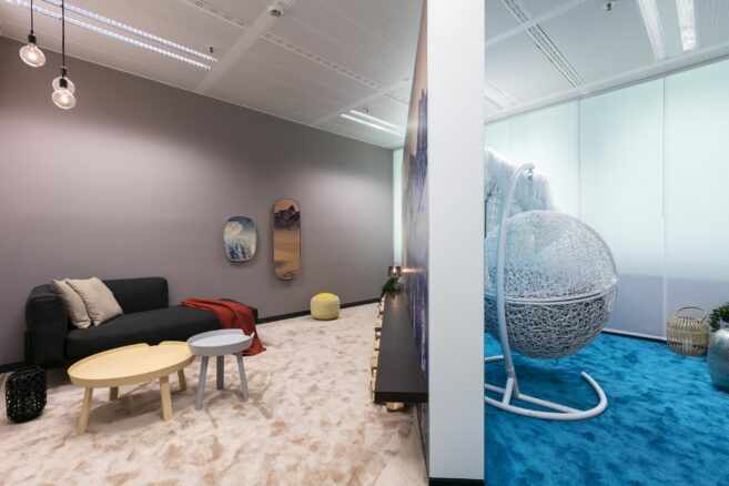 feco-feederle│office furniture│Silent Room at Bosch
