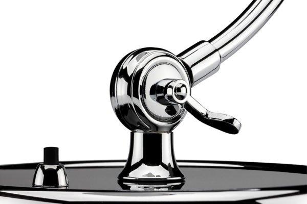 Fritz Hansen Kaiser idell Tischlampe, Details │Luxus Ausführung│schwarzgrün│sofort verfügbar│Mehr Tischleuchten bei feco Karlsruhe