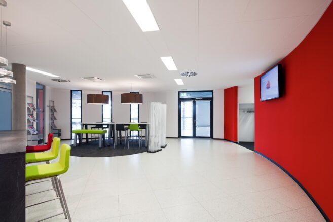 feco-feederle│office furniture Karlsruhe│SEW large gear-unit plant in Bruchsal