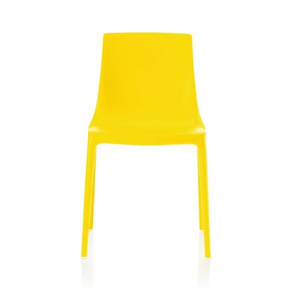 Brunner Twin Outdoor Stuhl │citrusgelb │robust und pflegeleicht │ergonomischer Stuhl aus einem Guss │ Brunner bei feco Karlsruhe
