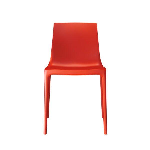 Brunner Twin Outdoor Stuhl │rot │robust und pflegeleicht │ergonomischer Stuhl aus einem Guss │ Brunner bei feco Karlsruhe