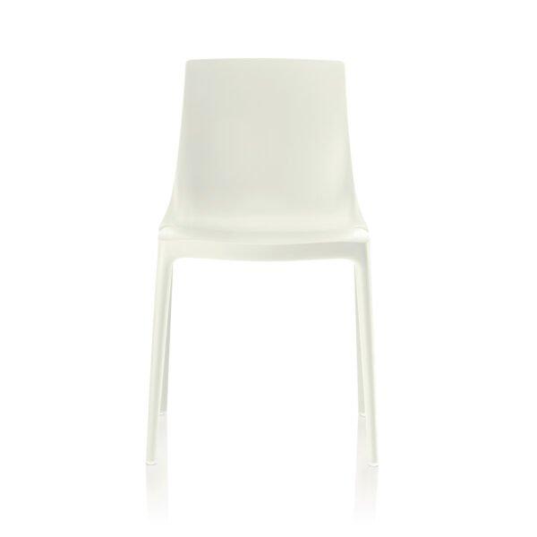 Brunner Twin Outdoor Stuhl │stone │robust und pflegeleicht │ergonomischer Stuhl aus einem Guss │ Brunner bei feco Karlsruhe