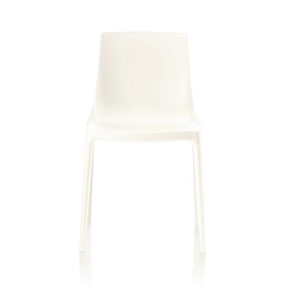 Brunner Twin Outdoor Stuhl │weiß │robust und pflegeleicht │ergonomischer Stuhl aus einem Guss │ Brunner bei feco Karlsruhe