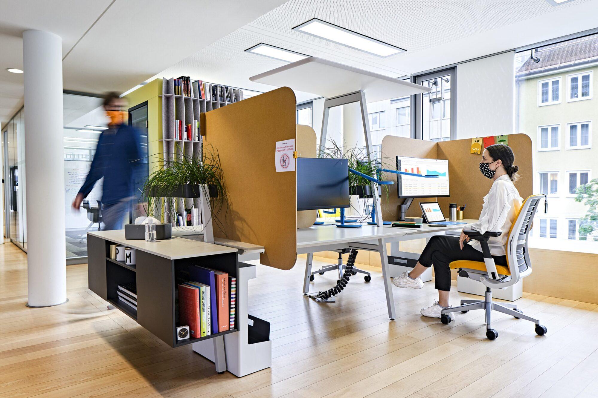 Zurück im Büro – das neue Normal. │ Wie die Pandemie unser Denken über Arbeit verändert. │ feco-feederle GmbH Karlsruhe