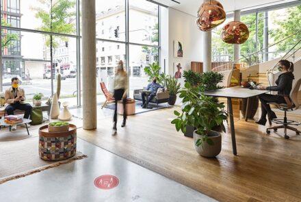Zurück im Büro – das neue Normal. │ Wie die Pandemie unser Denken über Arbeit verändert. │ feco-feederle GmbH Karlsruhe Bild