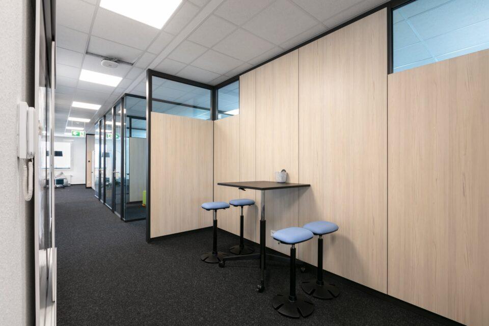 Fraunhofer ISI, Karlsruhe Technology Park │ feco-feederle Karlsruhe │feco partitions