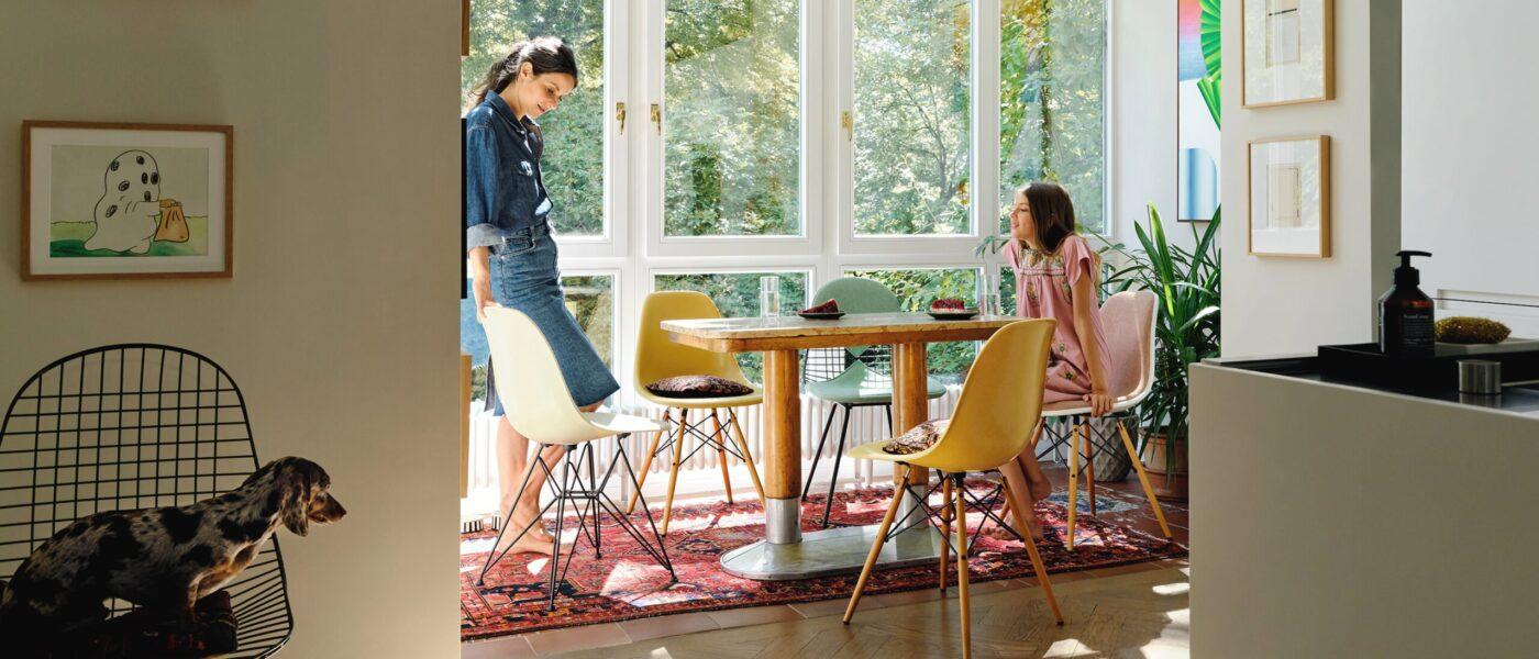 Den sechsten Stuhl als Geschenk Kaufen Sie sechs Esszimmerstühle und erhalten Sie den sechsten Stuhl als Geschenk.*