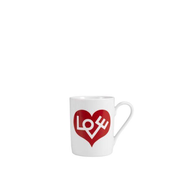 Vitra Kaffeetasse Love Herz rot, Retrodesign │Vitra Accessories│feco Karlsruhe