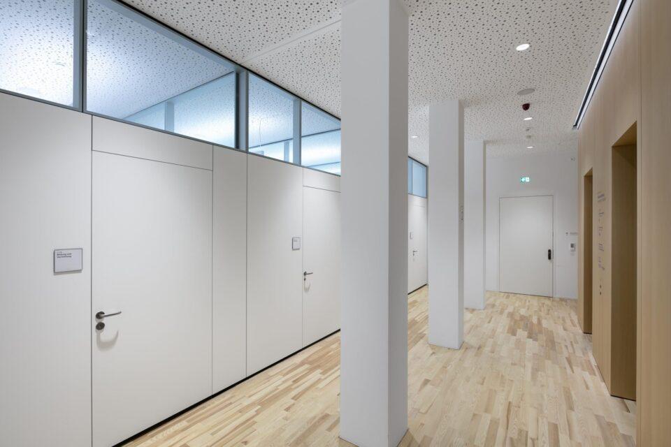 feco-feederle│partition wall system│Jewish Museum, Frankfurt