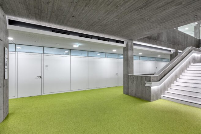 co-feederle│partition walls│Württemberg State Library