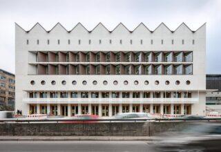 Württemberg State Library in Stuttgart