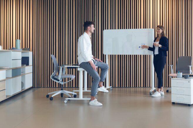 Sedus se:lab meet desk bei feco in Karlsruhe