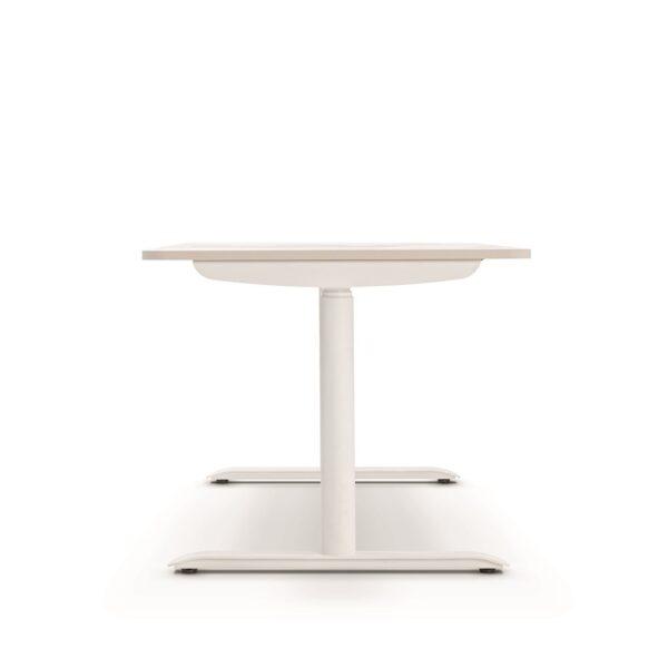 Sedus se:lab e-desk Schreibtisch mit abgerundeten Plattenecken, elektrisch höhenverstellbar