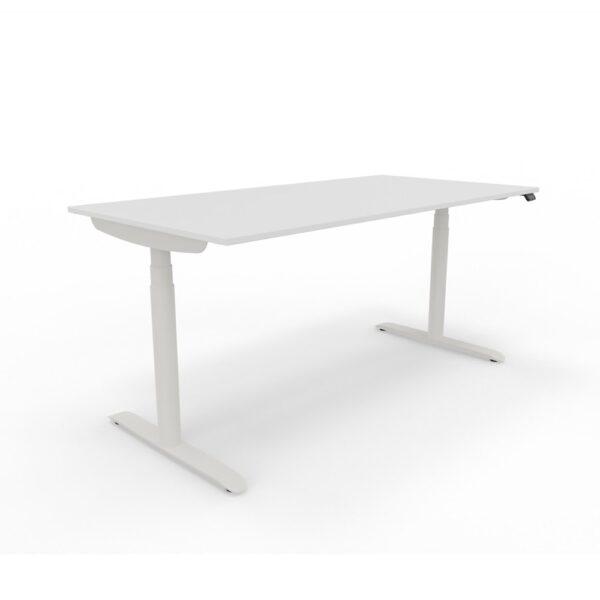 Sedus se:lab e-desk Schreibtisch, elektrisch höhenverstellbar, inkl. Kabelwanne und Netzkabel.
