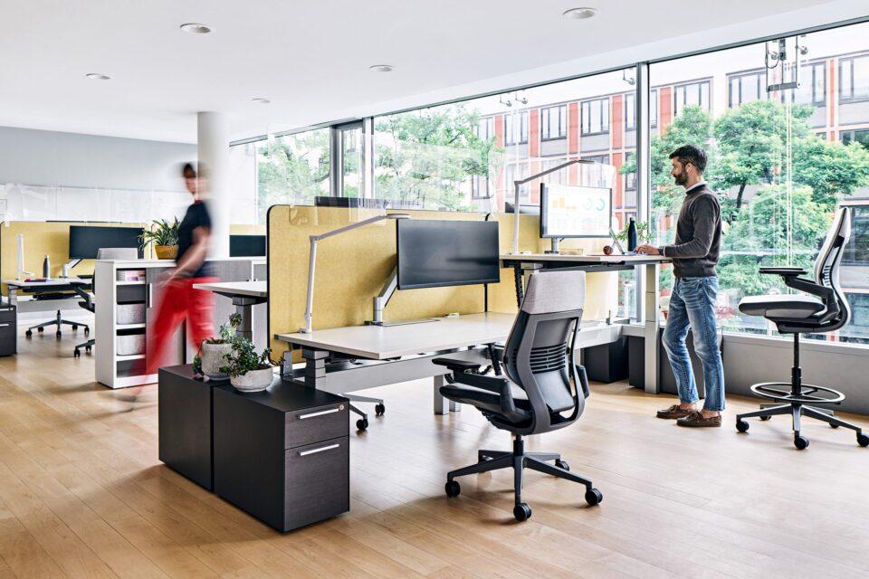 Steelcase Bürostühle bei feco in Karlsruhe