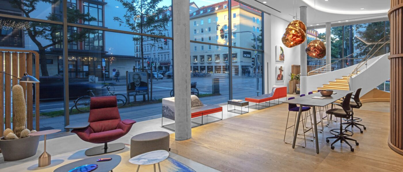 Steelcase Learning und Innovation Center - Showroom
