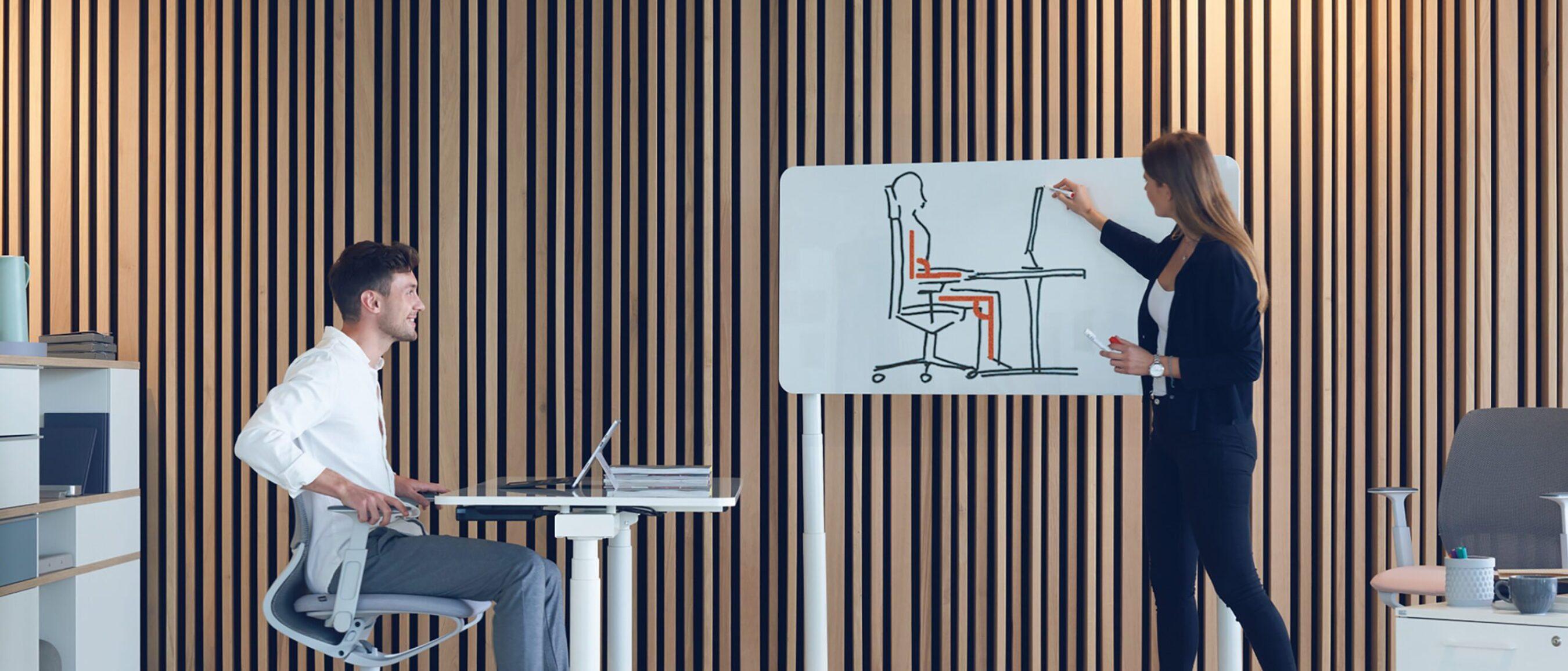 feco Büromöbel-Wissensdatenbank │Ergonomie am Arbeitsplatz