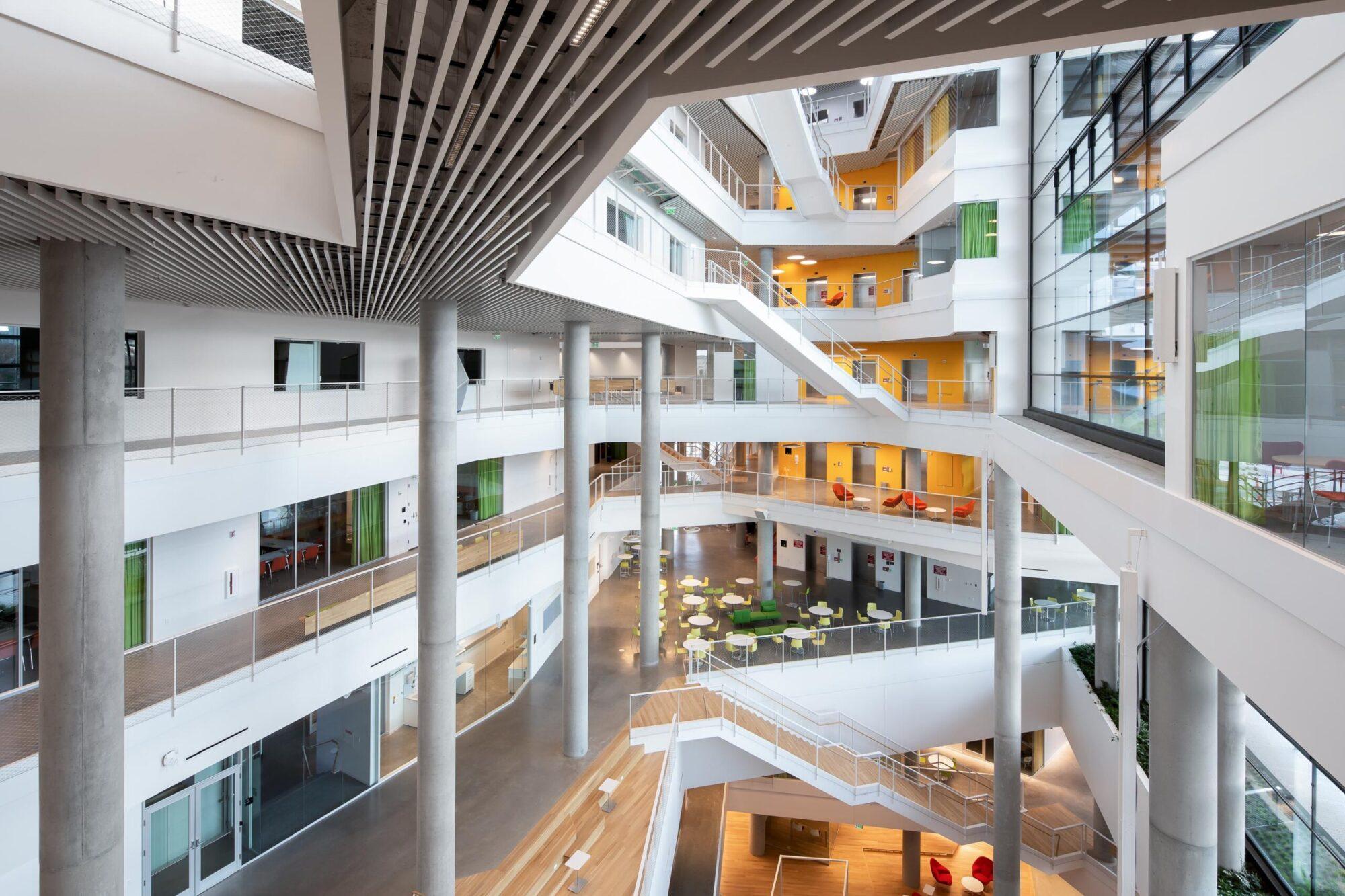Harvard University Science and Engineering Complex -Atrium